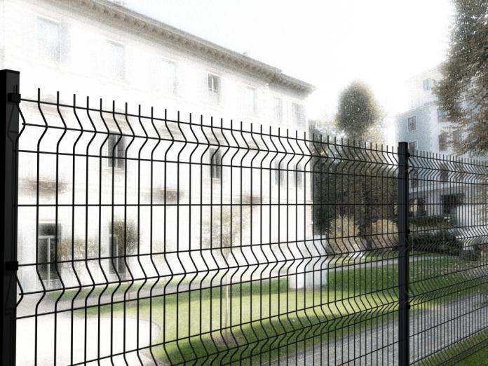 Pannello recinzione modulare cancellata rete metallica for Recinzione economica fai da te