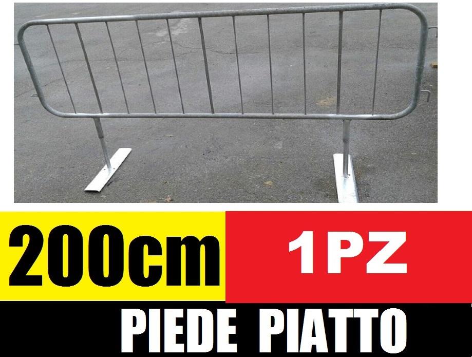 Transenne stradali pedonali piede piatto recinzione for Cassapanche economiche