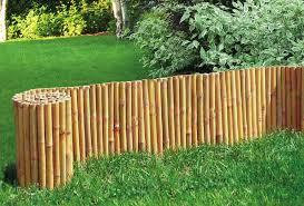 Bordura in rotolo per aiuole giardino in legno di pino for Bordura giardino prezzo