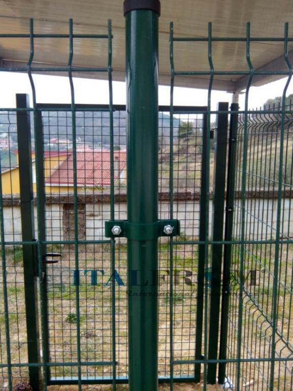 Box Recinto Modulare Per Cani In Ferro Zincato Plastificato Verde