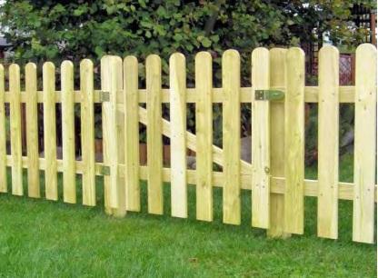 Doghe In Legno Per Cancelli : Cancelletto in legno di pino con doghe per steccato dimensioni