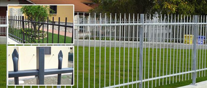 Posa delle recinzioni - Recinzioni in metallo per giardino ...